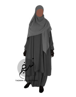 "Two Piece Abaya ""Hawa"" - Tasnim Collections"