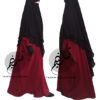 Two Layer Chiffon Khimar 'Amirah' - Tasnim Collections