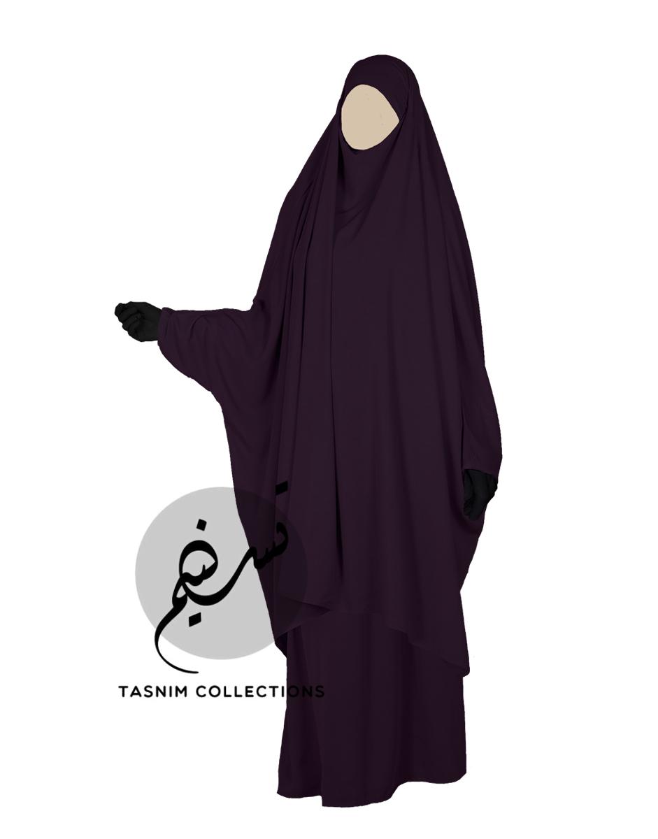 "Two Piece Jilbab ""Asiya"" - Tasnim Collections"