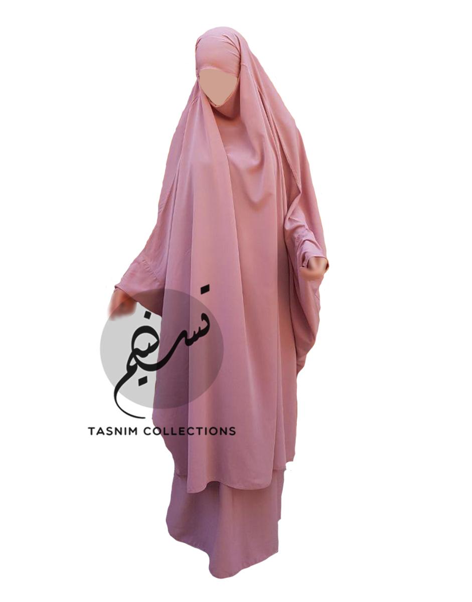 """Two Piece Jilbab """"Asmaa"""" - Tasnim Collections"""