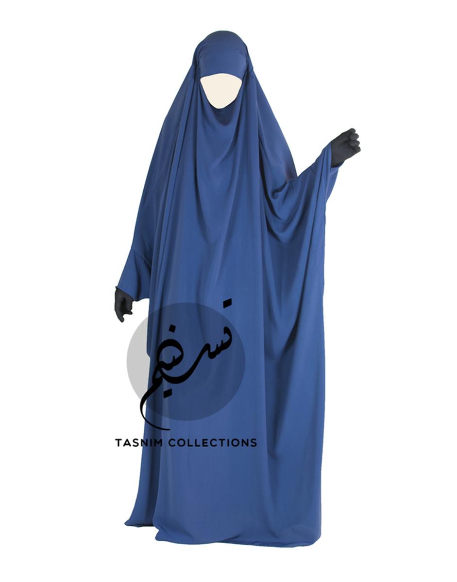 "One Piece Jilbab ""Hafsah"" - Tasnim Collections"