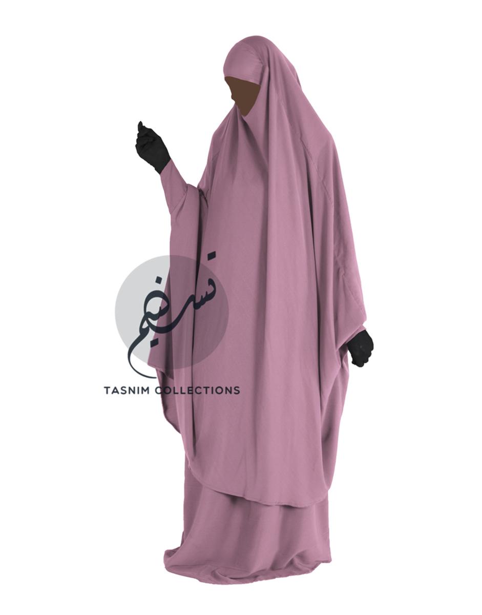 "Two Piece Jilbab ""Hanifah"" - Tasnim Collections"