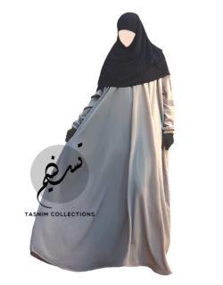 "Batwing Abaya ""Hawa"" With Elastic Cuff - Tasnim Collections"