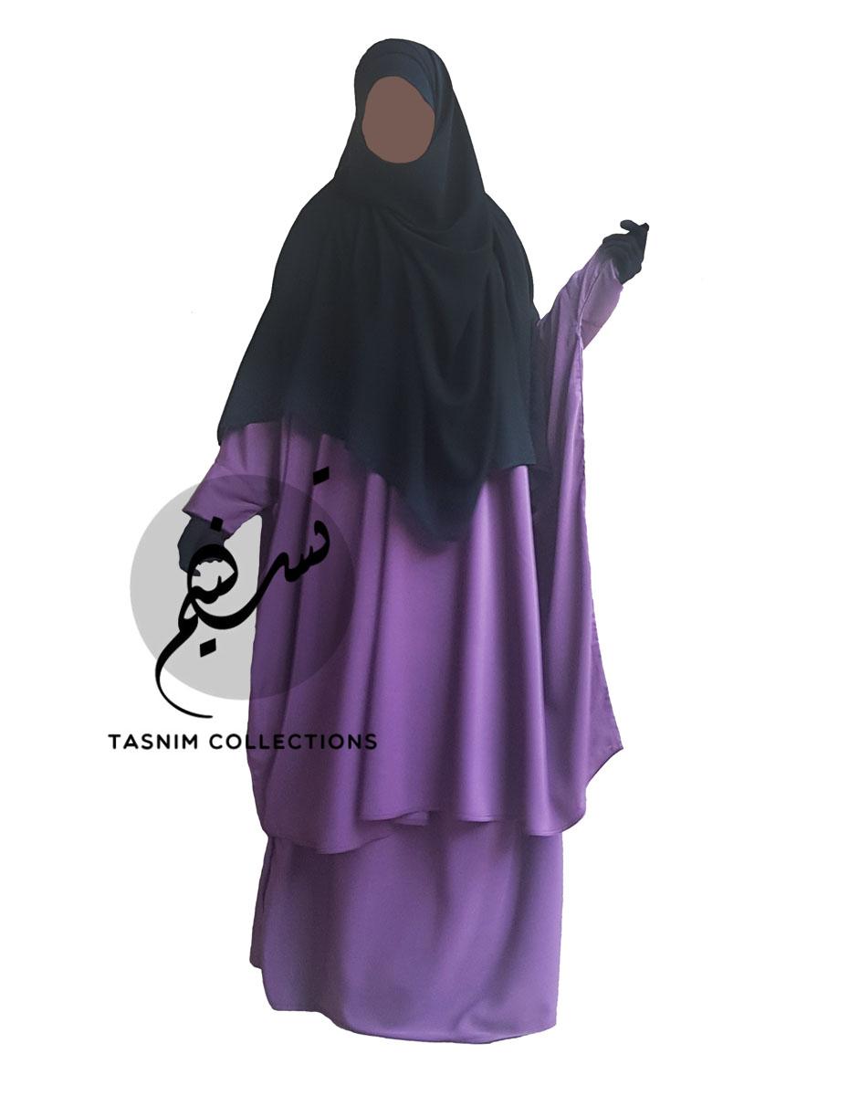 "Two Piece Abaya ""Noor"" - Tasnim Collections"