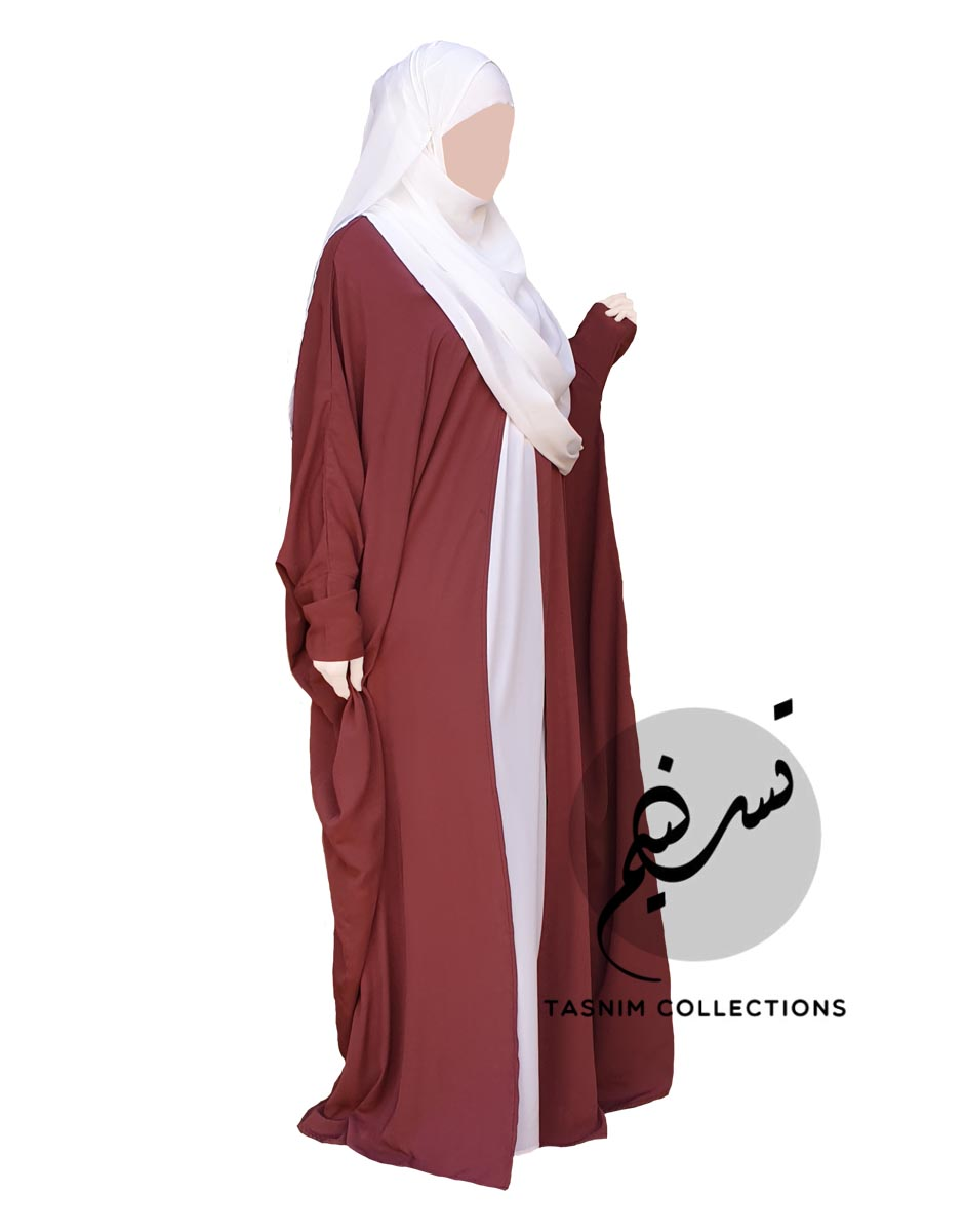 """Open Bisht Abaya """"Noor"""" - Tasnim Collections"""