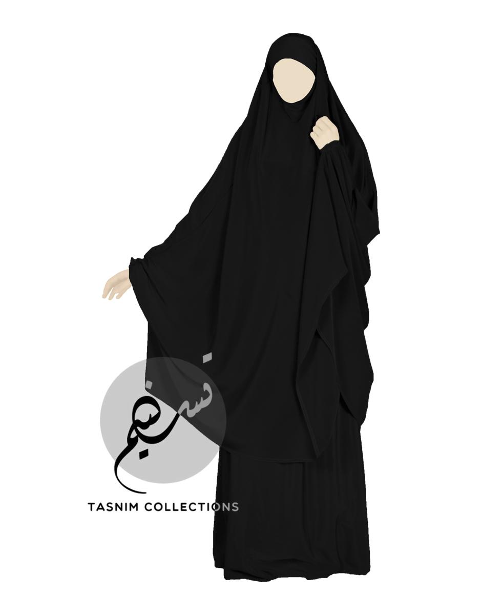 """Two Piece Jilbab """"Safiyya"""" - Tasnim Collections"""
