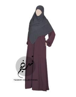 "Abaya ""Sarah"" With Pockets - Tasnim Collections"