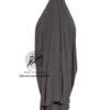 Two Piece Jilbab 'Asiya' Dark Brown Jilbab - Tasnim Collections