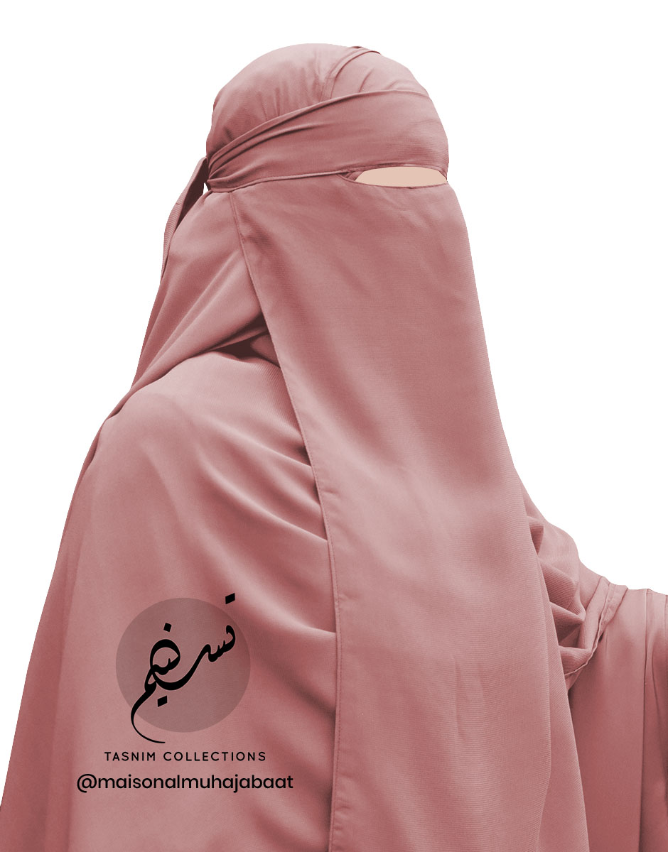 """One Piece Niqab """"Aaliyah"""" Apricot - Tasnim Collections"""