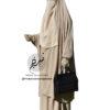 "Two Piece Jilbab ""Asiya"" Beige - Tasnim Collections"