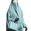 """Elastic Lithaam Half Niqab """"Aaliyah"""" - Tasnim Collections Nidha"""