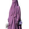 "Two Piece Jilbab ""Asiya"" Lavender - Tasnim Collections"