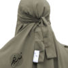 """One Piece Niqab """"Aaliyah"""" Light Olive - Tasnim Collections"""