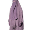 """Two Piece Jilbab """"Asiya"""" Mauve - Tasnim Collections"""