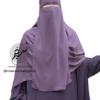 "One Piece Niqab ""Aaliyah"" Mauve - Tasnim Collections"