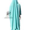 "Two Piece Jilbab ""Asiya"" Minty Turquoise - Tasnim Collections"