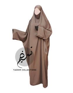"One Piece Jilbab ""Zahraa"" - Tasnim Collections"