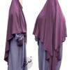 "Diamond Khimar ""Salma"" Lavender - Tasnim Collections"