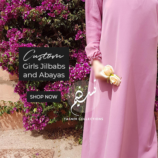 Tailor made clothing for our Mini Muslimah's