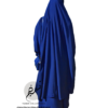 "Two Piece Jilbab ""Asiya"" Royal Blue - Tasnim Collections"